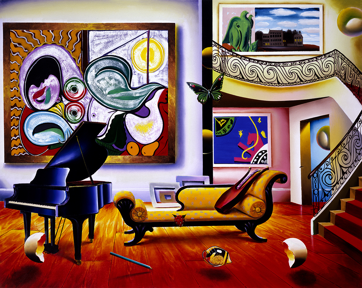 PIANO ROOM  30 x 20   1999