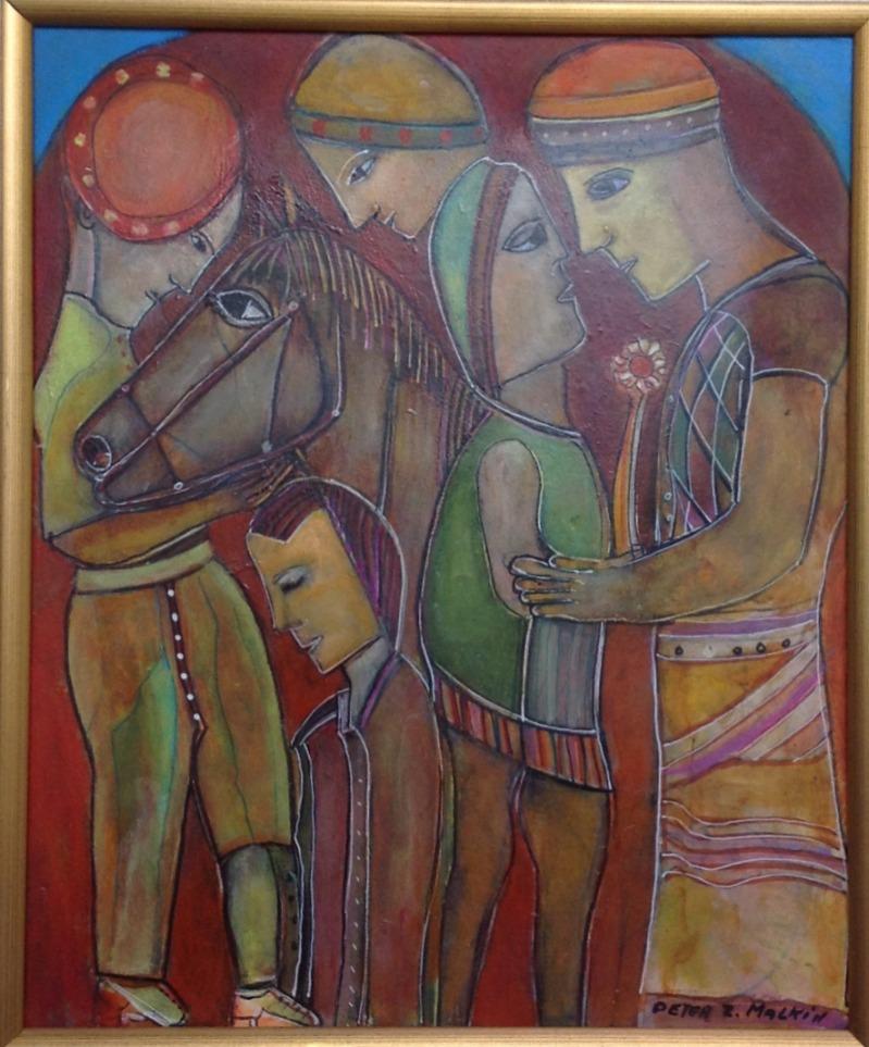 25 PETER MALKIN SILENT HORSE 14