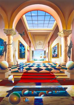 HALL OF FAME 30 x 40  2005