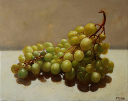 Grapes, 41 x 51 cm, oil on canvas, 2013