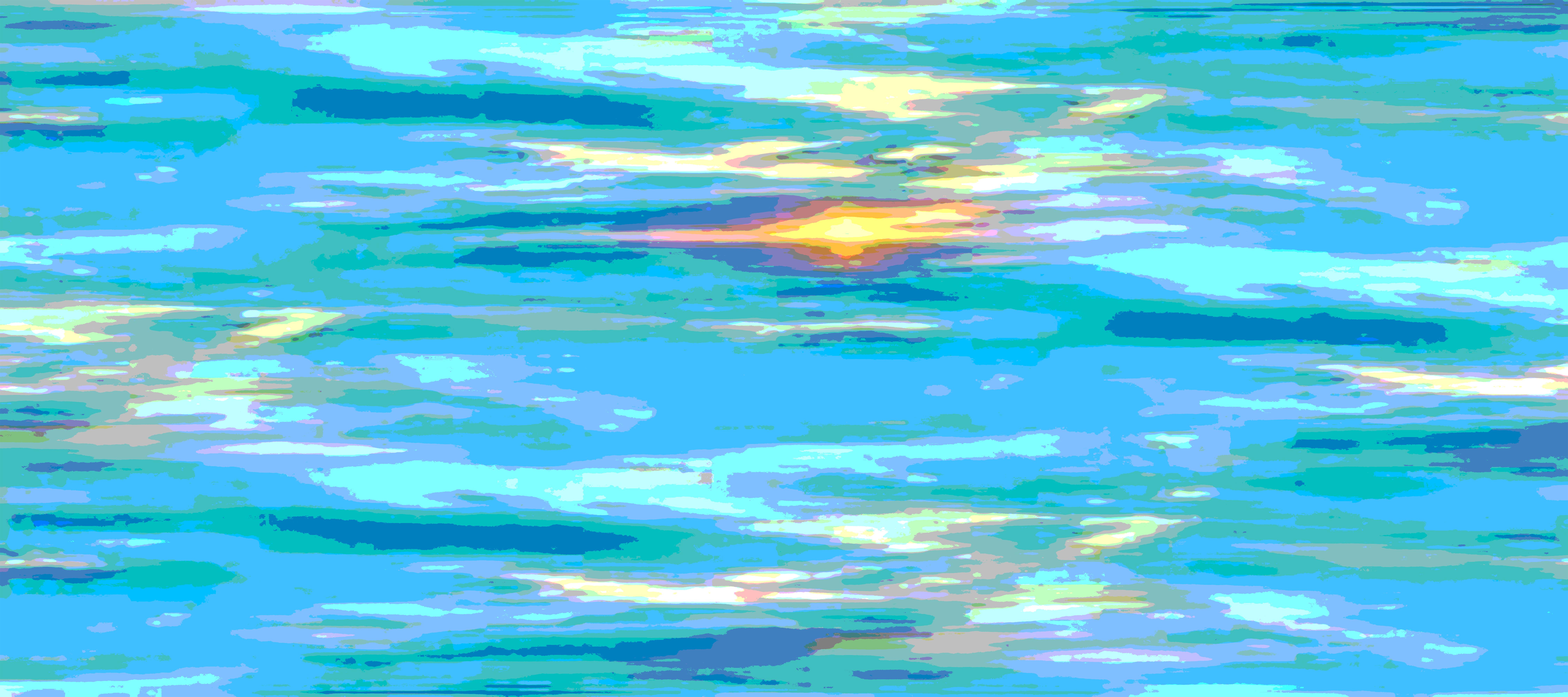 KAP67  ORIGINAL ABSTRACT SUNSET 90_x40_.