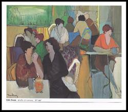 CAFE OSCAR      ACRYLIC ON CANVAS        58x46 in