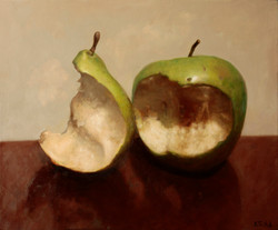 Sweet Cores, 60 x 72 cm, oil on canvas, 2013, a