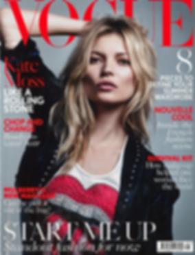 Kate Moss, Vogue Magazine, BethanJoy London