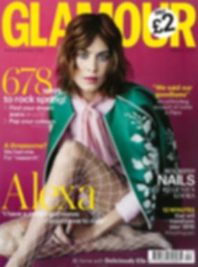 Alexa Chung, Glamour Magazine, BethanJoy Lodon