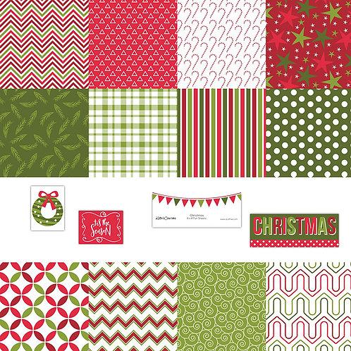 Christmas 4x4 Fun Sheets