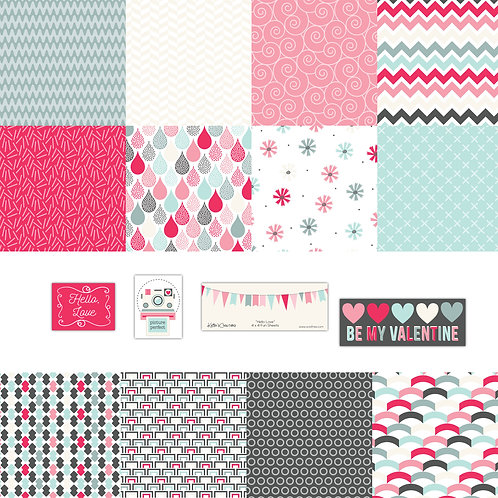 Hello Love 4x4 Fun Sheets