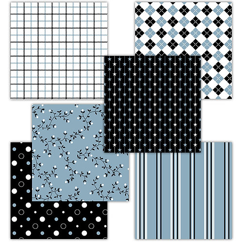 Father's Day 6 x 6 Fun Sheets