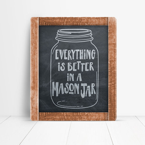 Everything Is Better Jar Chalk Download