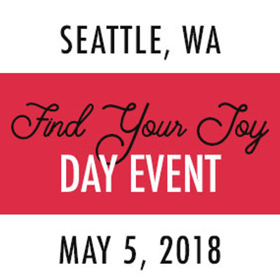 Find Your Joy Day—Seattle