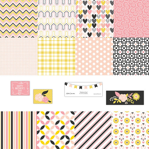 Mother's Day 4x4 Fun Sheets