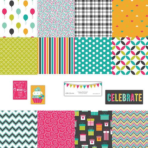 Happy Birthday 4x4 Fun Sheets