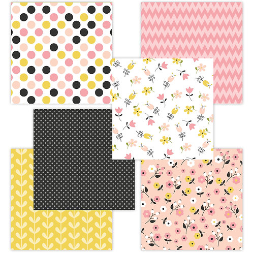 Mother's Day 6 x 6 Fun Sheets