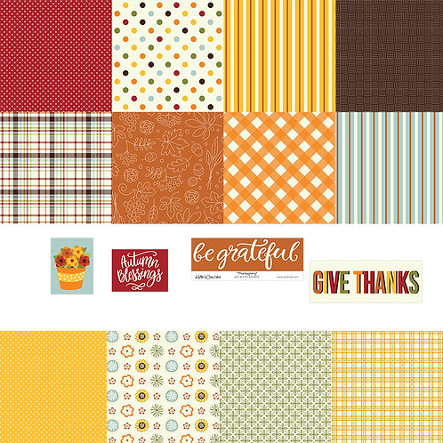 Thanksgiving 4x4 Fun Sheets