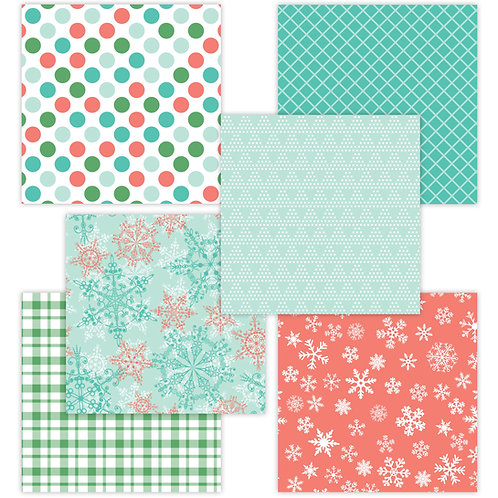 Winter-Time 6 x 6 Fun Sheets