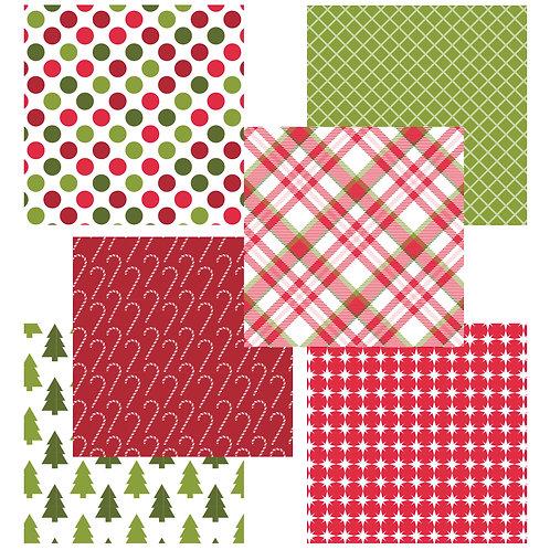 Christmas 6 x 6 Fun Sheets