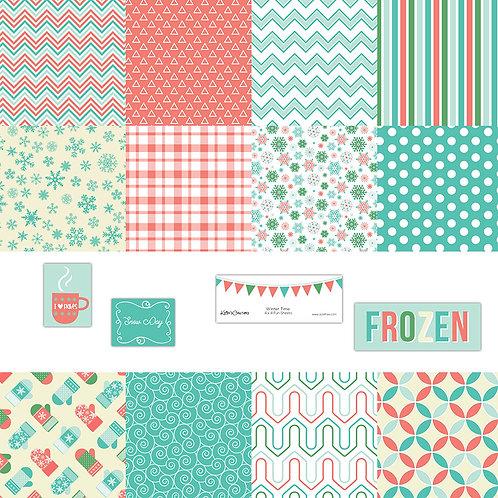 Winter-Time 4x4 Fun Sheets