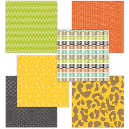 Zoo Day 6 x 6 Fun Sheets