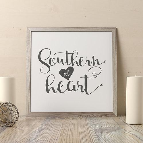 Southern At Heart Print