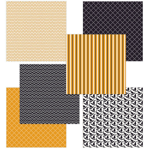 Halloween 6 x 6 Fun Sheets
