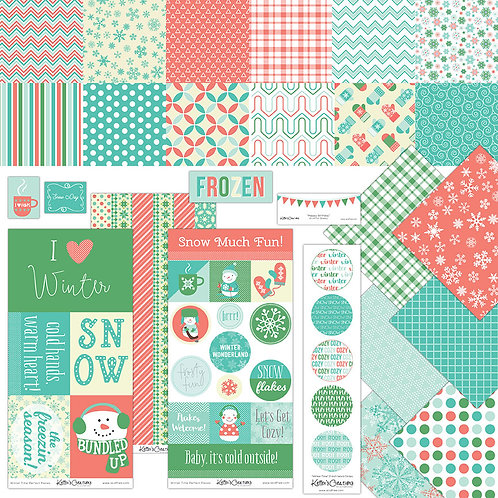 Winter Time Scrap Bundle
