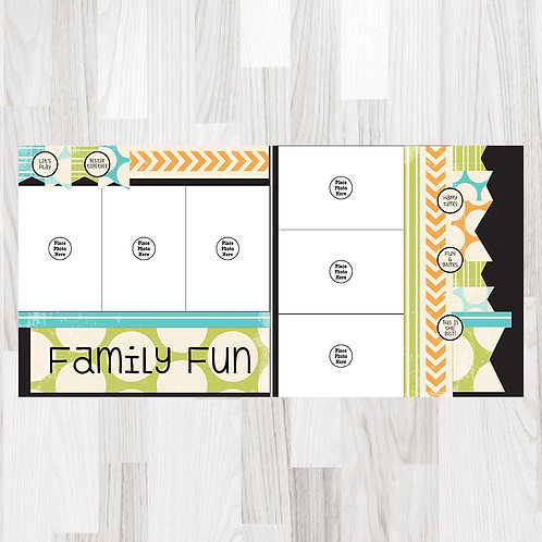 Family Fun Perfect Pages