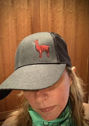 Charcoal Llama Hat