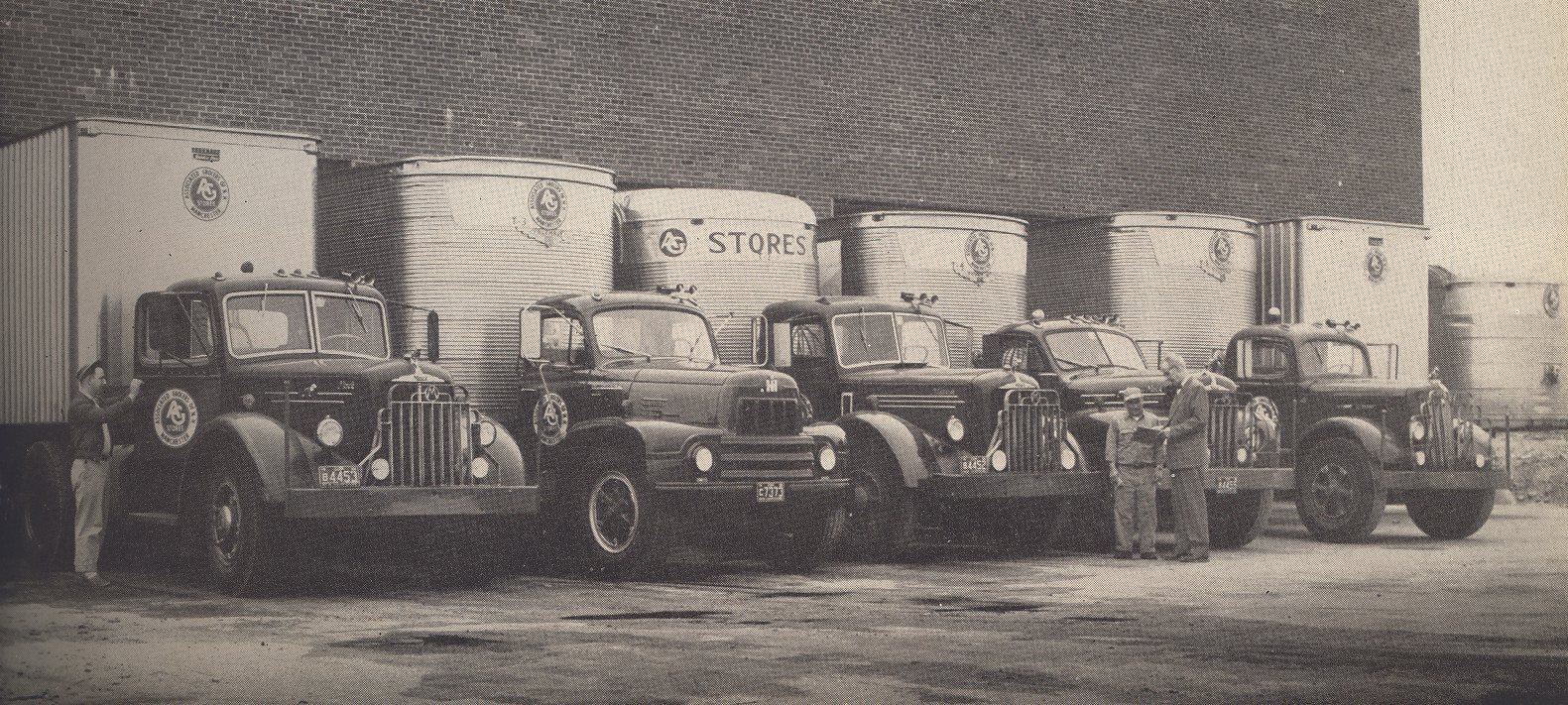 AGNE Grocers Warehouse Trucks