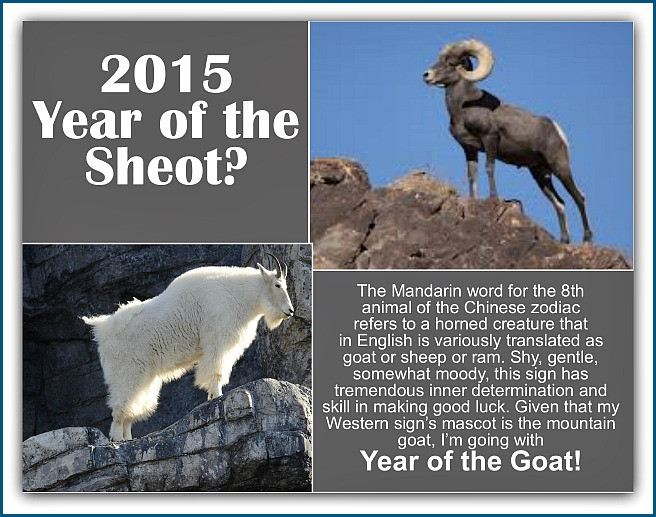 WiseWoman Seer on Chinese Year of Goat