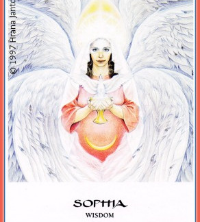 Is the Energy of Wisdom Goddess Sophia Welcoming Us into 2015?