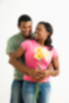Image of happy African American couple symbolizing happiness after counselng with Deanne Carter