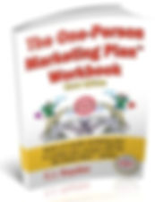 Image of book cover for The One-Person Marketing Plan Workbook