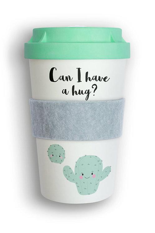 Eco Coffee Cup - Huggy