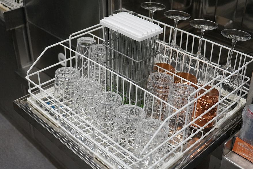 Trinkhalme reinigen Spülmaschine