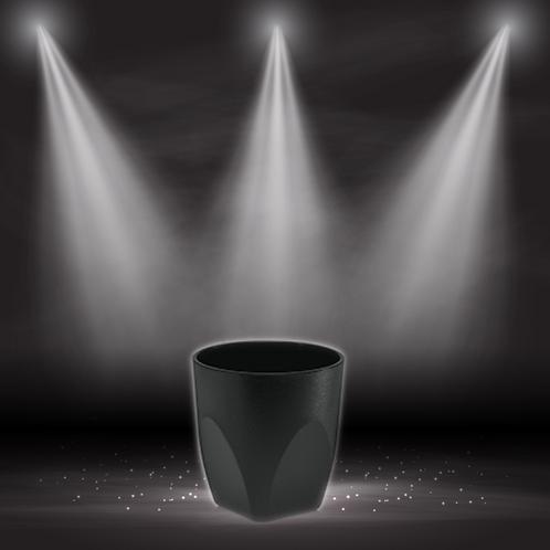 Event Shot / Whisky Becher schwarz 2cl