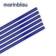 Glas Strohhalme blau