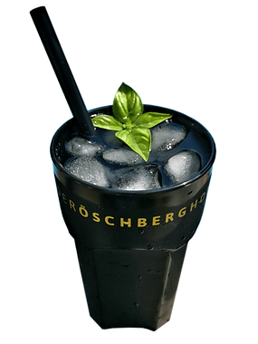 Mehrweg Cocktail Becher mit Logo Druck
