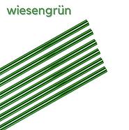 Glas Strohhalme grün