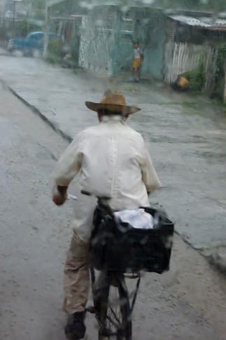 Old Man in the Rain
