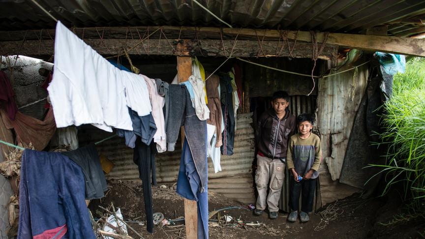 EDELAC school children at home.