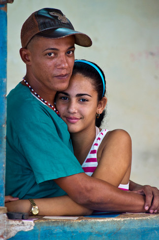 Young Couple, Central Havana.