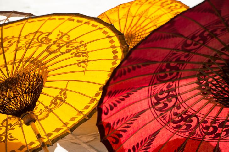Hand made umbrellas.