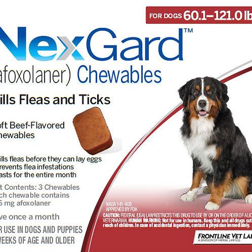 Nexgard Dogs 60-121lbs
