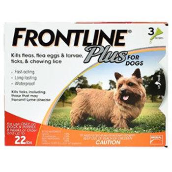Frontline Plus Dogs 0-22lbs