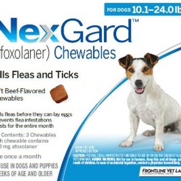 Nexgard Dogs 10-24lbs