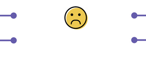 frowning smiley when payments are not properly collected or managed