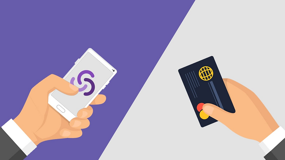 Comparing direct debit to credit cards such as visa, Mastercard or American Express