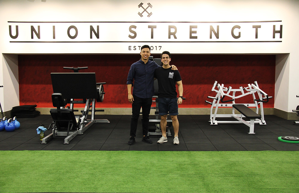 Zac Liew and Carlos Villa partnership between Union Strength and Curlec to help small businesses