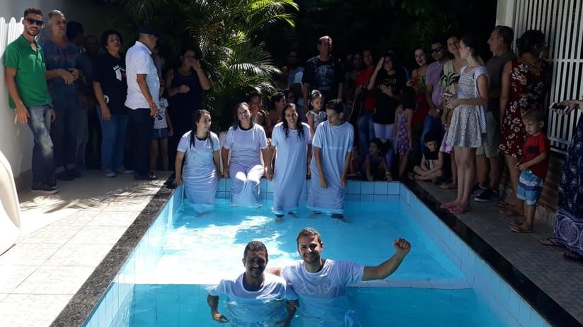 Batismo - Missao Brasil