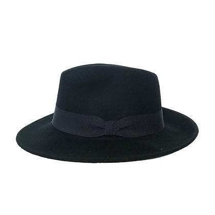 Sombrero Fedora lana negro